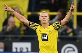 Erling Haaland has been on fire for Borussia Dortmund in 2021