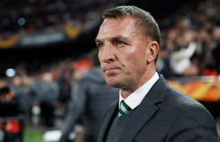 Brendan Rodgers during his time in charge of Celtic