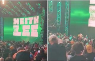 Keith Lee was given a new name prior to last night's episode of WWE Raw