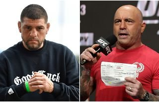 Joe Rogan warns Robbie Lawler that Nick Diaz has an 'unstoppable will' and 'chin made of iron'