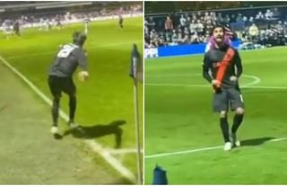 Andre Gomes gave some back to QPR fan who mocked him