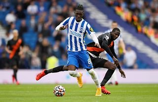 Brighton & Hove Albion's Manchester United and Liverpool target Yves Bissouma
