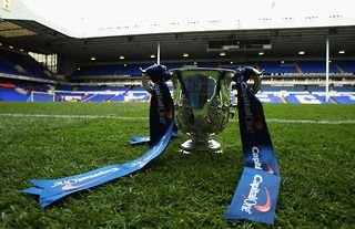 Carabao Cup trophy for 2021/22