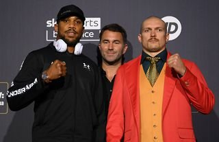 Anthony Joshua and Oleksandr Usyk will come to blows this weekend