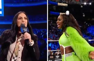 The feud between Sonya Deville and Naomi intensified on WWE SmackDown last night