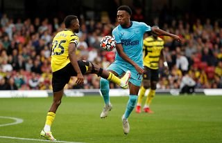 Newcastle United signed Joe Willock on a permanent basis last month