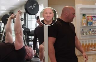 Inside Dana White's state-of-the-art Las Vegas gym and kitchen
