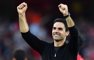 Arsenal manager Mikel Arteta delighted after the north London derby