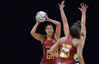 """England netball player Geva Mentor was left """"effectively stranded"""" in New Zealand after the Red Roses' Test series in Australia was cancelled"""