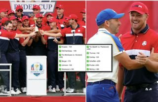 A Ryder Cup punter managed to turn $8 into $966,290 thanks to staggering 12-fold bet