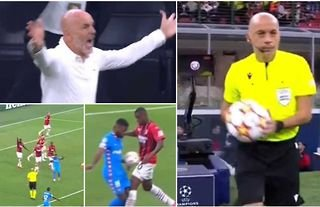 AC Milan 1-1 Atletico: Highlights of referee Cuneyt Cakir's disasterclass go viral
