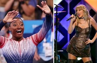 """American gymnast Simone Biles has thanked Taylor Swift for her """"grace and generosity"""" during the Tokyo 2020 Olympic Games."""