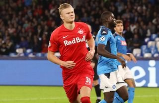 Erling Haaland absolutely smashed it at RB Salzburg
