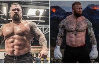 Eddie Hall will take on Hafthor Bjornsson in an upcoming boxing match.