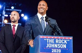 Dwayne Johnson has ruled out a potential Presidential bid