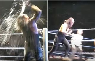 The Undertaker went absoutely mental at a WWE house show