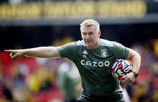 Dean Smith could switch to 4-3-3 for Aston Villa's Premier League clash with Wolves
