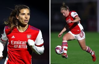 """US football star Tobin Heath has claimed she has """"never played with a better player than Kim Little""""."""