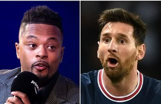 Patrice Evra is 'sick' of Lionel Messi winning the Ballon d'Or