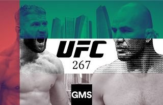 UFC 267 is set to take place from Abu Dhabi