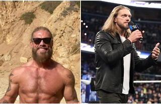Edge looking ridiculously shredded ahead of Crown Jewel match