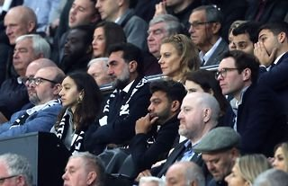 Newcastle United's owners watch on at St James' Park