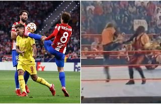 Antoine Griezmann's horror tackle has earned some unwanted comparisons
