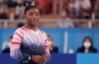 """Four-time Olympic champion Simone Biles admitted she is """"still scared to do gymnastics"""" in an honest interview on American talk show Today."""