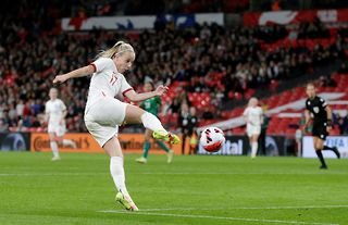 Beth Mead became the first woman to score a hat-trick for England after hitting the back of the net three times against Northern Ireland at Wembley