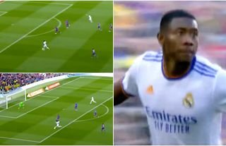 What a goal by David Alaba!