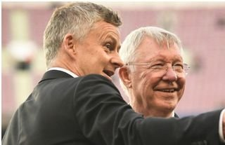 Ole Gunnar Solskjaer is staying at Man United for now